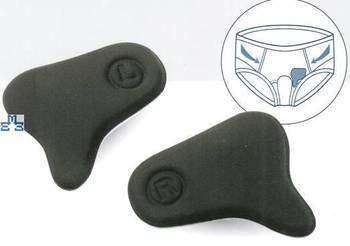 Anatomical cushion inguinal hernia pad Pavis 5,45€ left-right