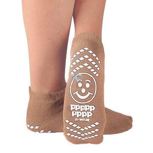 Extra wide non slip socks P2