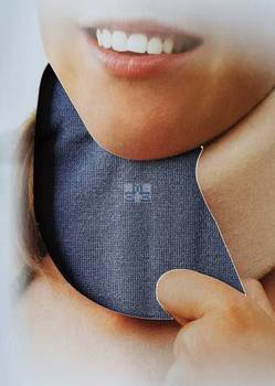 Decorative cervical collar support cover Grey Cameleone® 12,95 Euro