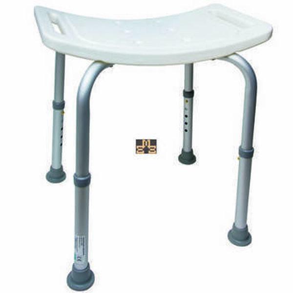 Adjustable shower bench-stool for seniors 37,49€