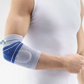 Epitrain® elbow support Bauerfeind-Titan blue