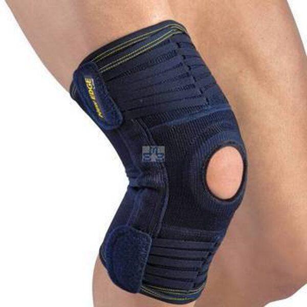 New Edge® Kniebrace 63,95€ Patella stabilisator met anatomisch instelbare steun