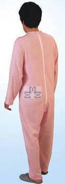 Medical incontinence onesie female w/ back zipper
